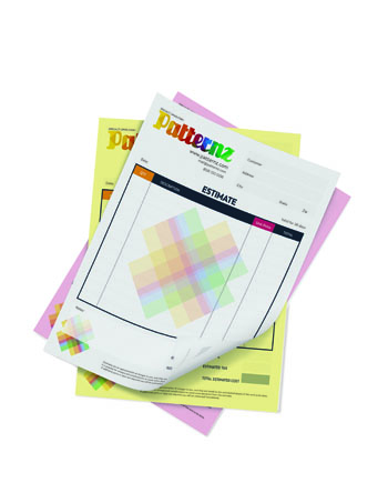 "Print 8.5"" x 11"" 3-Part NCR (Carbonless) Forms"