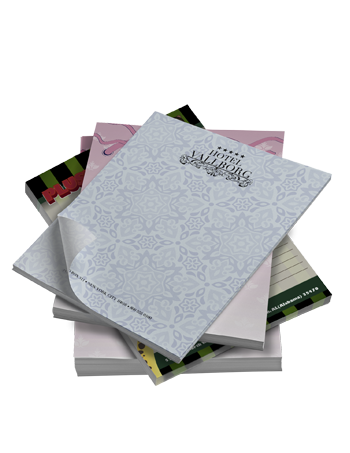 """Print 50 Page Notepads (8.5"""" x 11"""")"""