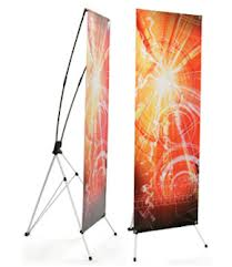 Indoor X-Frame Banner Stands