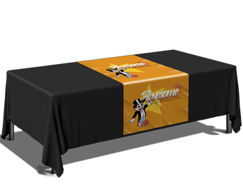Custom Printed Table Runners